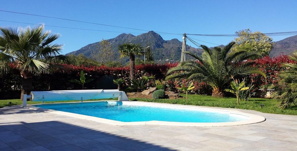 Santa lucia di moriani plage piscine recente villa plain pied for Piscine 8x4 avec plage